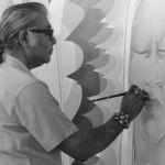 Bosin painting mural