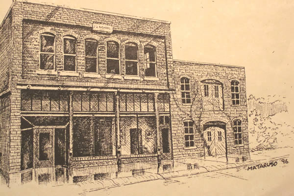 drawing of the carriage factory