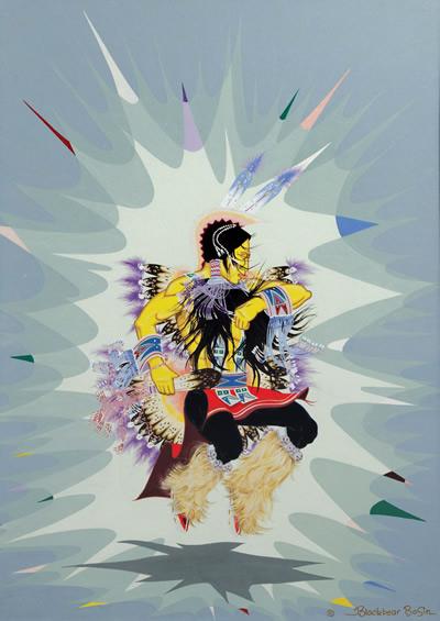 Feather Dancer by Blackbear Bosin