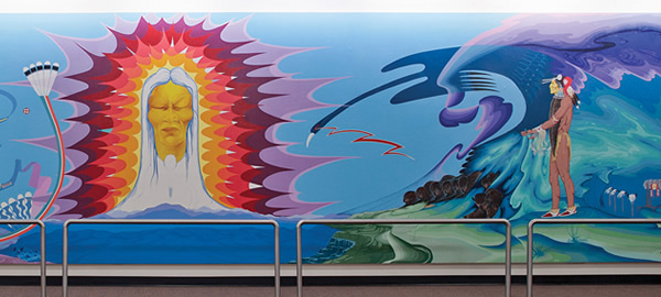 mural: From Whence All Life