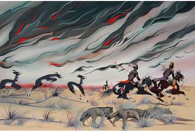 Prairie Fire by Blackbear Bosin