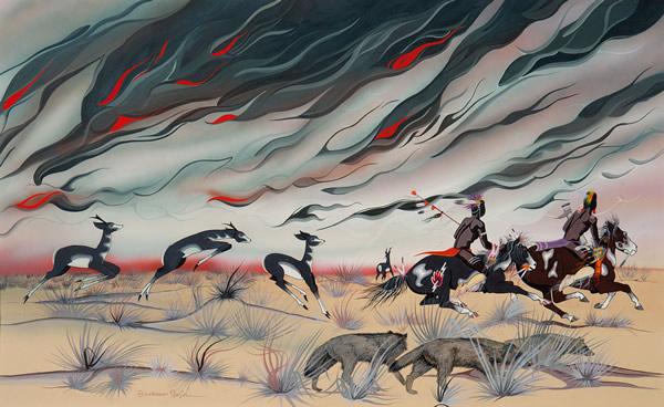 Prairie Fire (copyrighted)